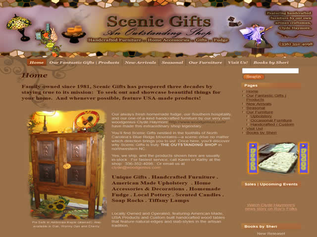 Scenic Gifts in Mt. Airy, NC