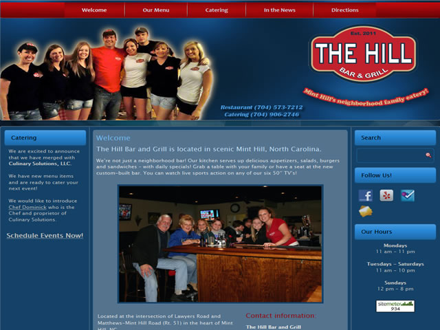 The Hill Bar and Grill, Mint Hill, NC