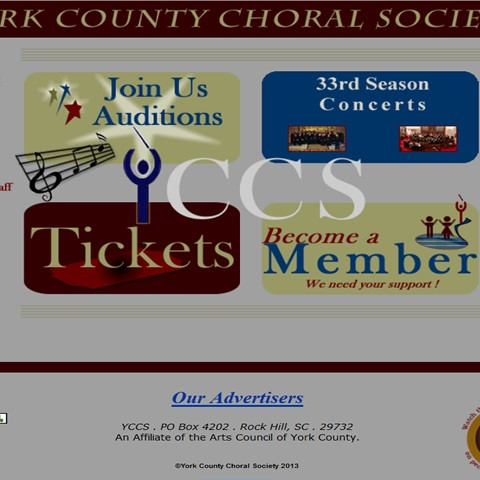 York County Choral Society, YCCS